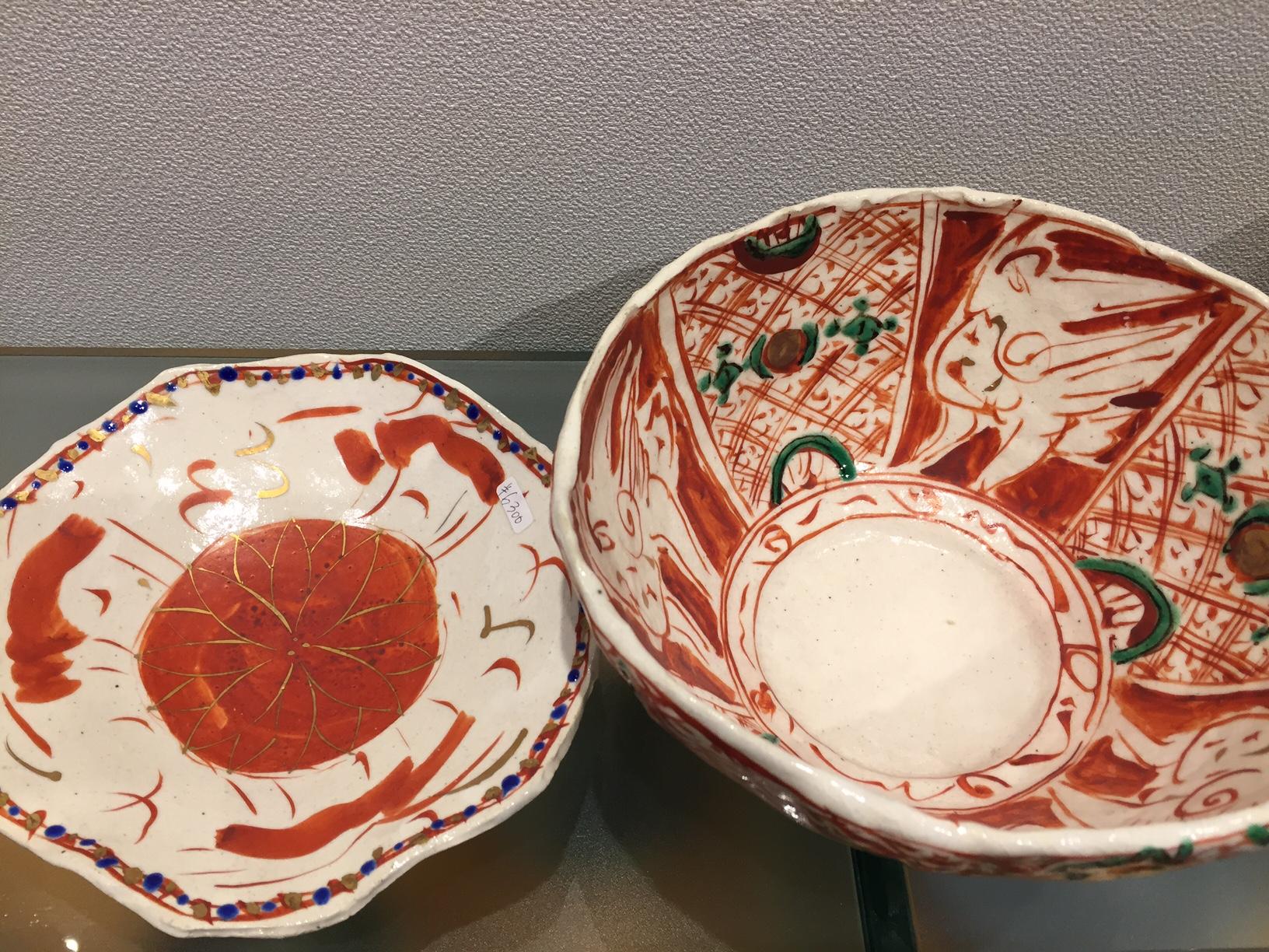 いろいろな陶器展